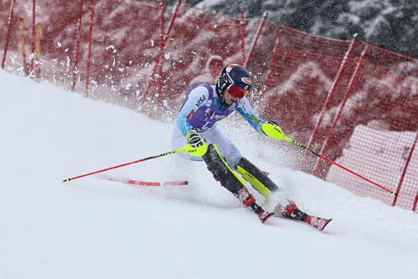 Photo Mikaela Shiffrin Ski World Cup Jasna