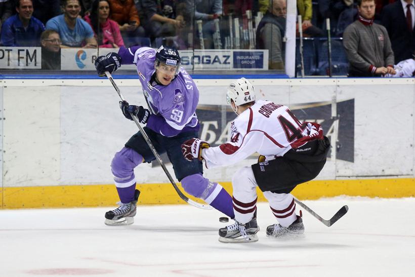 Foto KHL Slovan Bratislava - Dinamo Riga