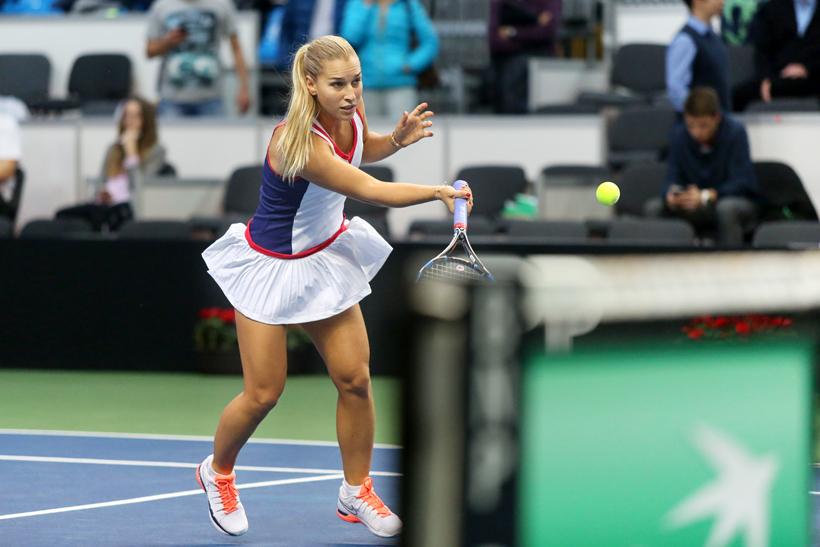 Foto Dominika Cibulková Fed Cup