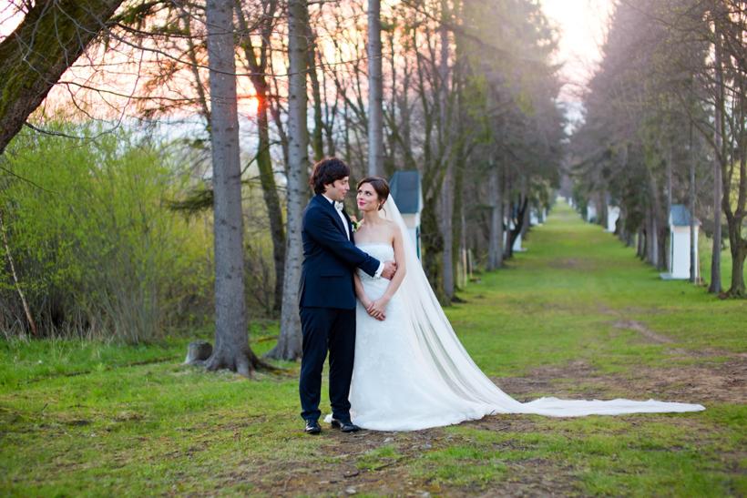 Fotenie svadby prebiehalo v Bobrove a Kline
