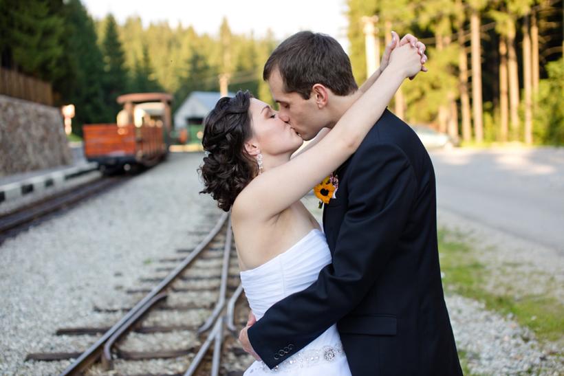 Fotenie svadby v Zákamennom - Oravská Lesná železnička
