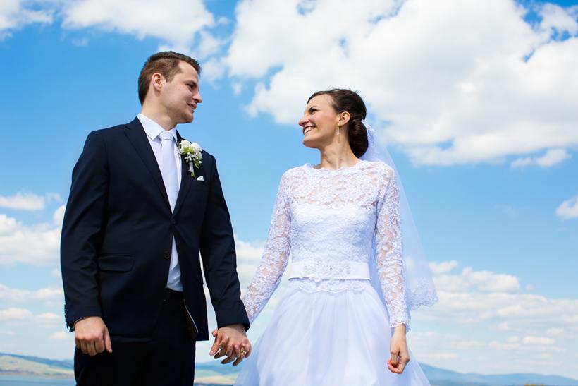 Fotenie svadby v Námestove nad Štefanovom