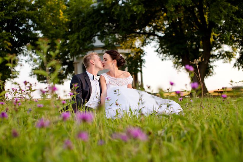 Fotografovanie svadby pri Bobrovskej kalvárií