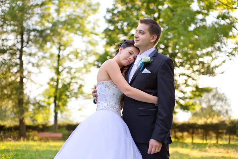 Fotenie svadby Oravská Lesná bokeh kostolík