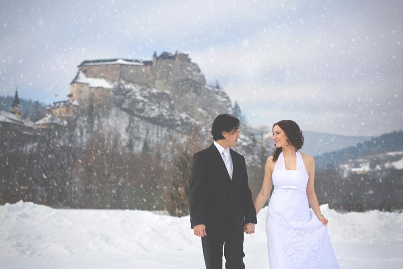 svadba Orava oravský hrad